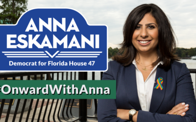 The Honorable Bud Gardner Endorses Anna Eskamani for HD47