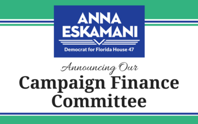 Anna V. Eskamani Announces Campaign Finance Committee