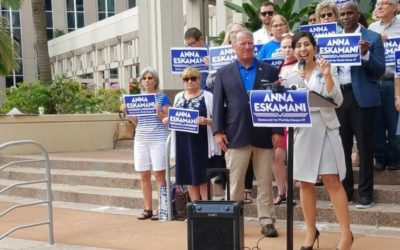 Orlando Mayor Buddy Dyer Endorses Anna Eskamani