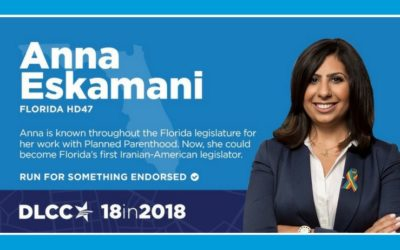 "Democratic Legislative Campaign Committee (DLCC) chooses Anna V. Eskamani for ""18 in 2018"" spotlight"