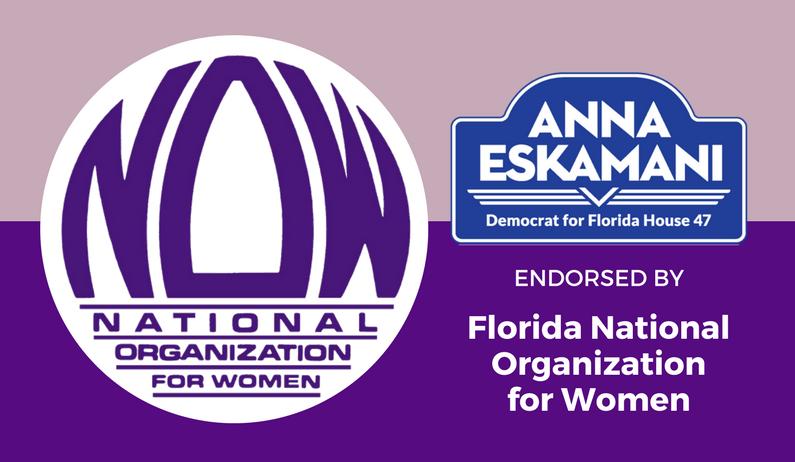 Florida NOW Endorses Anna V. Eskamani For Florida House District 47