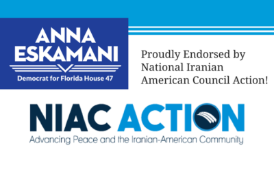 National Iranian American Council Action Endorses Anna V. Eskamani For Florida House District 47