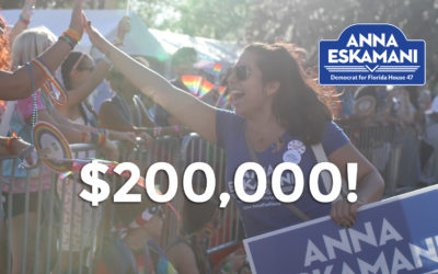 Democrat Anna V. Eskamani Raises More than $200,000 in Her Bid To Take Back HD47