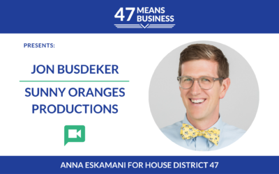 47 Means Business: Jon Busdeker of Sunny Oranges Productions