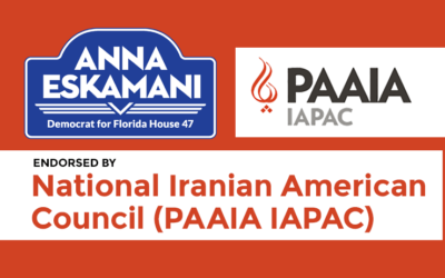 Iranian American Political Action Committee Endorses Anna V. Eskamani For Florida House District 47