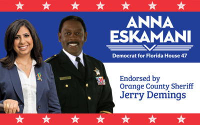 Orange County Sheriff Jerry Demings Endorses Anna V. Eskamani for Florida State House District 47