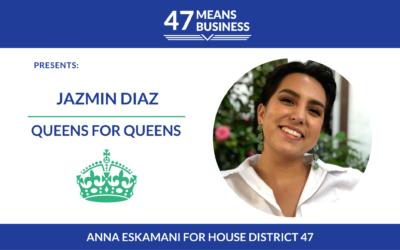 47 Means Business Profile: Jazmin Diaz