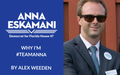 Why I'm #TeamAnna: Alex Weeden