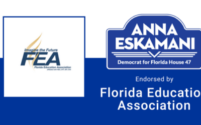 Anna V. Eskamani Receives the Endorsement of the Florida Education Association