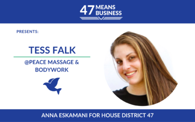 47 Means Business Profile: Tess Falk