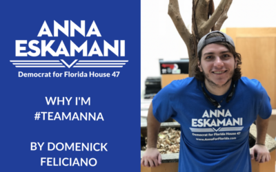 Why I'm #TeamAnna: Domenick Feliciano