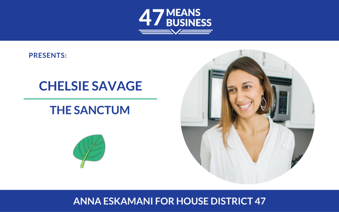 47 Means Business Profile: Chelsie Savage