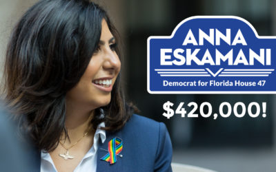 Anna V. Eskamani Raises More than $420,000