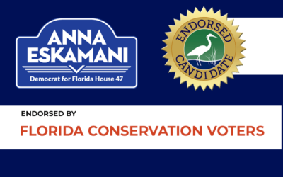 Florida Conservation Voters Endorses Anna Eskamani for the Legislature