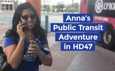 Anna's Public Transit Adventure in HD47