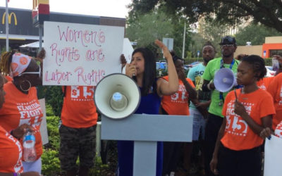 Anna V. Eskamani Stands with McDonald Workers Against Sexual Harassment and Assault
