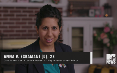 Anna V. Eskamani Featured on MTV News