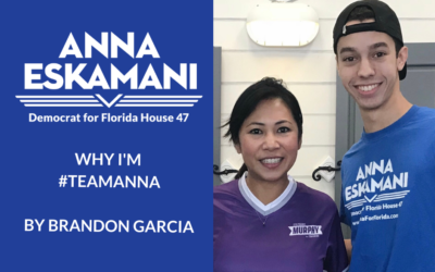 Why I'm #TeamAnna: Brandon Garcia