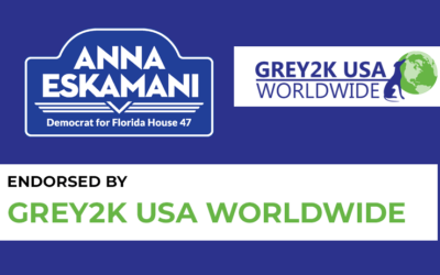 Anna V. Eskamani Endorsed by Grey2K USA WorldWide