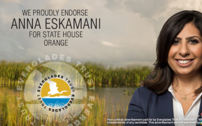Anna V. Eskamani Earns Endorsement of Everglades Trust
