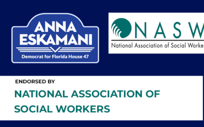 Anna V. Eskamani Earns Endorsement of National Association of Social Workers, Florida Chapter