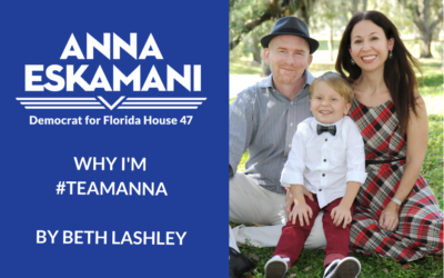 Why I'm #TeamAnna: Beth Lashley