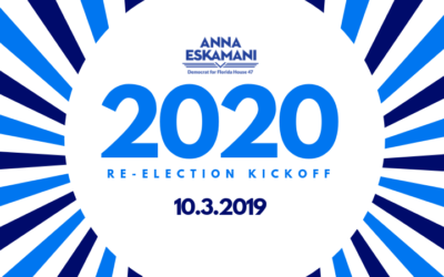 Announcing Our 2020 Re-Election Kickoff Celebration!