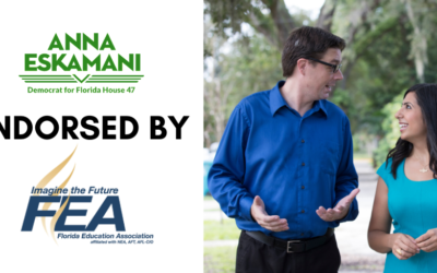 Representative Eskamani Earns Early Endorsement from the Florida Education Association